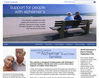Alzheimers Support Screenshot