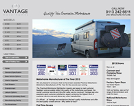 Vantage Motorhomes Screenshot
